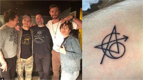 Tattoo, Font, Art,
