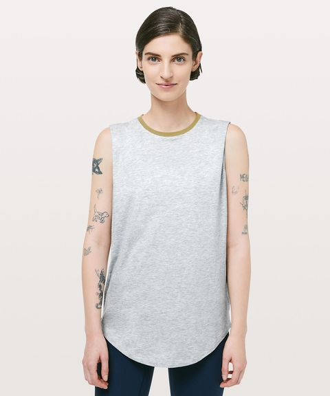 Clothing, White, Shoulder, Sleeve, T-shirt, Neck, Top, Outerwear, Muscle, Sleeveless shirt,