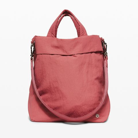 lululemon on my level holdall, women's health uk
