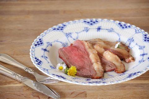 丹麥人的夏日餐桌,原味烤牛肉