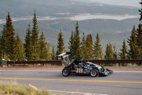check out the contraption that won pikes peak