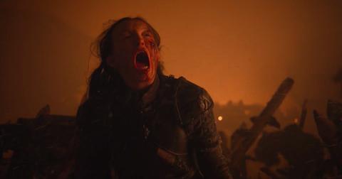 Lyana Mormont muerte gigante