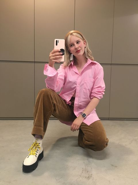 roze bloezen mode hit