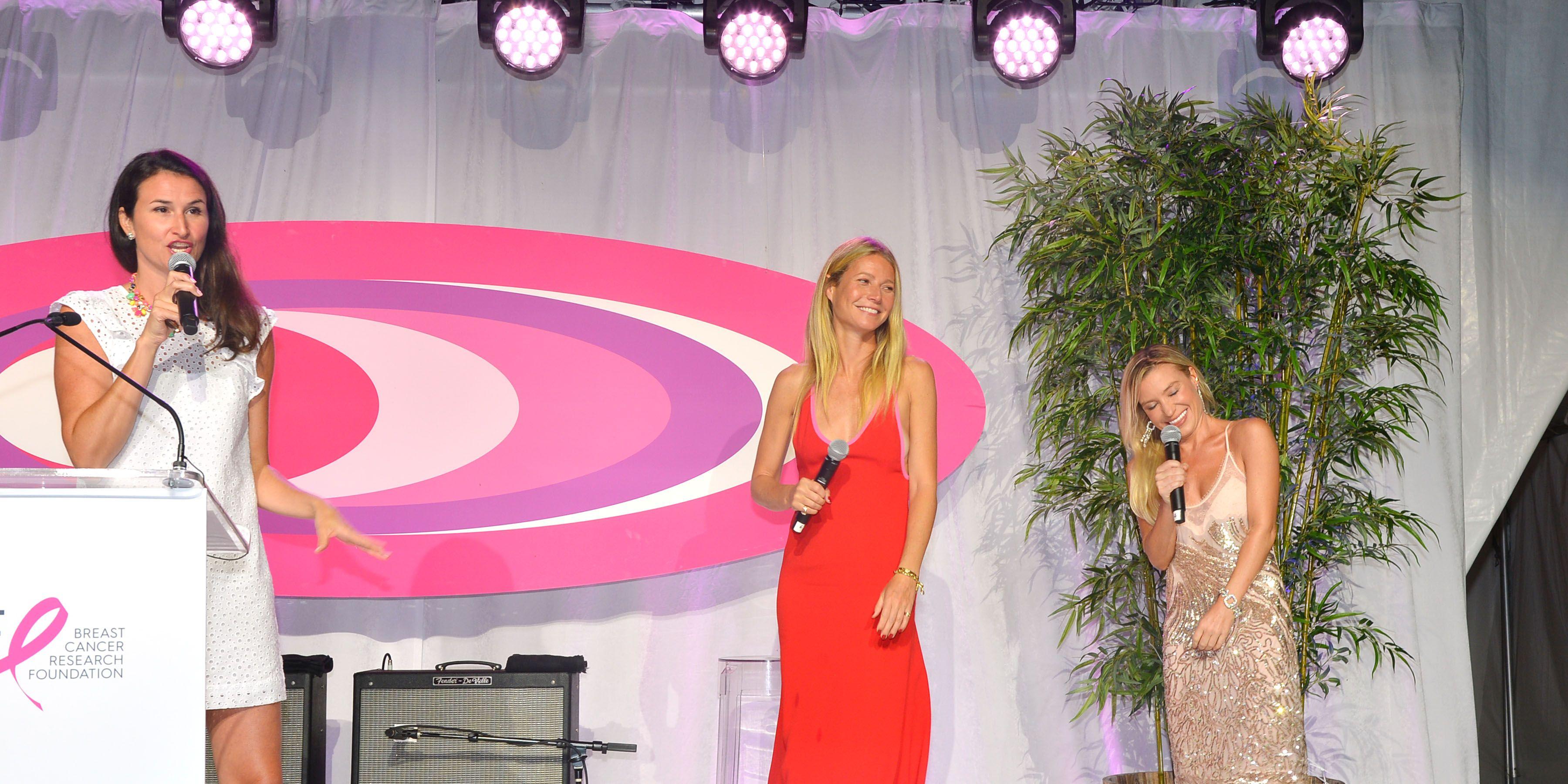 Gwyneth Paltrow y su entrenadora Tracy Anderson.