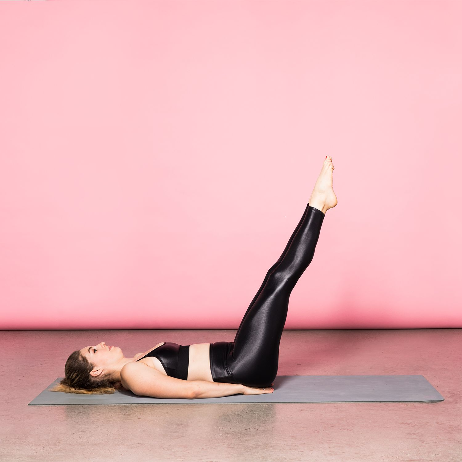 How To Do Lying Leg Raises To Seriously Tone Your Lower Abs
