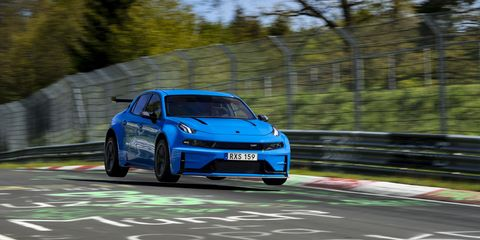 Lynk & Co 03 Cyan Concept bate récords en Nürburgring