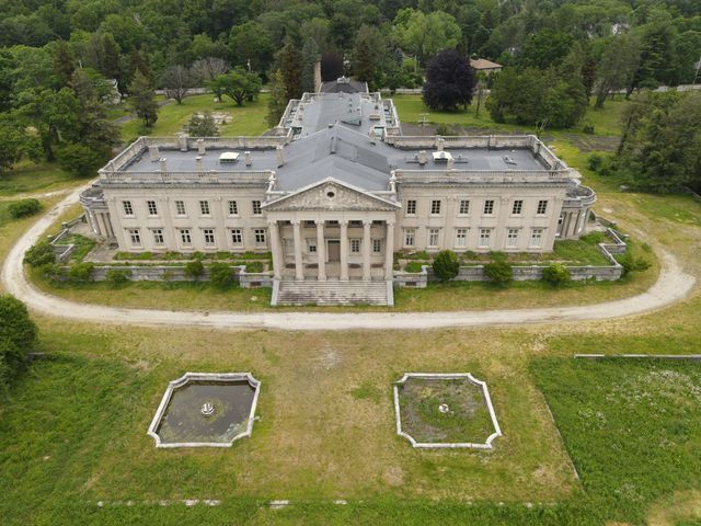 inside lynnewood hall, a $256 million mansion with ties to the titanic that's now abandoned