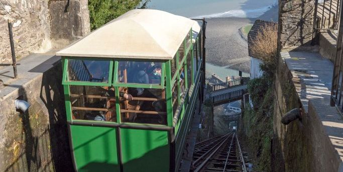 The world's steepest, water-powered railway is right here in the UK