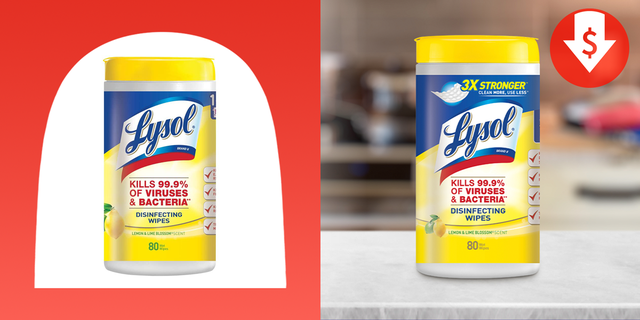 lysol disinfectant wipes