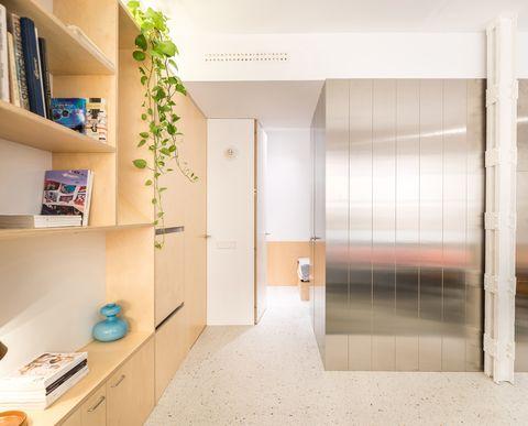 Minimo, casa piccola a Madrid - living