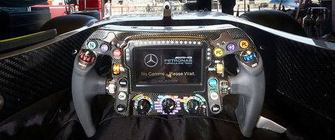 Here S What Every Button On A Modern F1 Steering Wheel Does