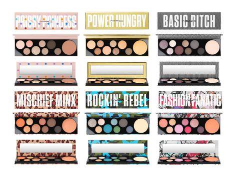 Eye shadow, Eye, Cosmetics, Material property,