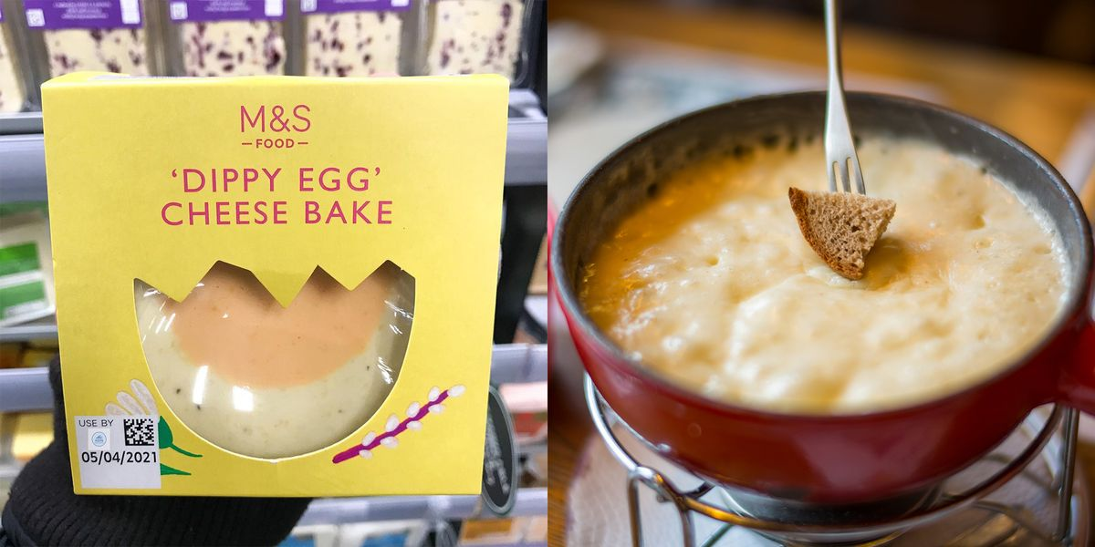M&S' new baked cheese fondue 'dippy egg' is ridiculously cheesy