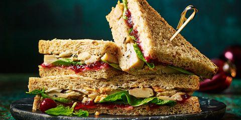 Food, Dish, Cuisine, Ingredient, Vegan nutrition, Sandwich, Tuna fish sandwich, Melt sandwich, Whole grain, Produce,