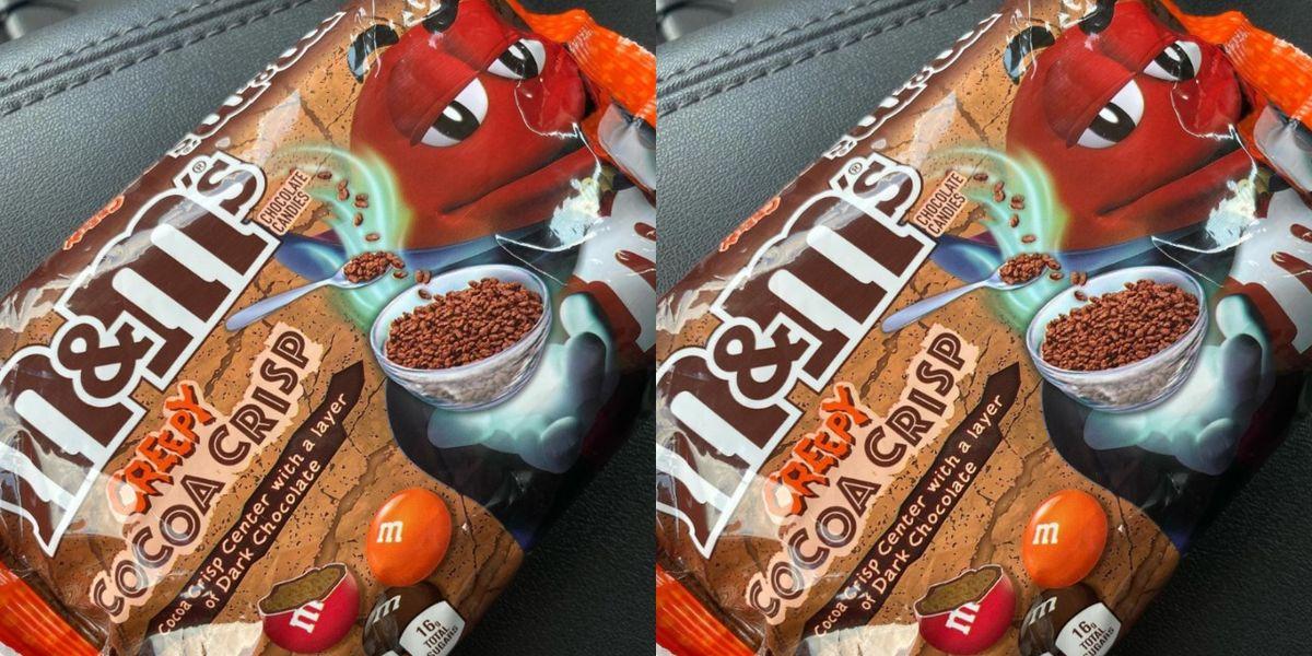 Creepy Cocoa Crispy M&M's Are Hitting Shelves In Prep For Spooky Season