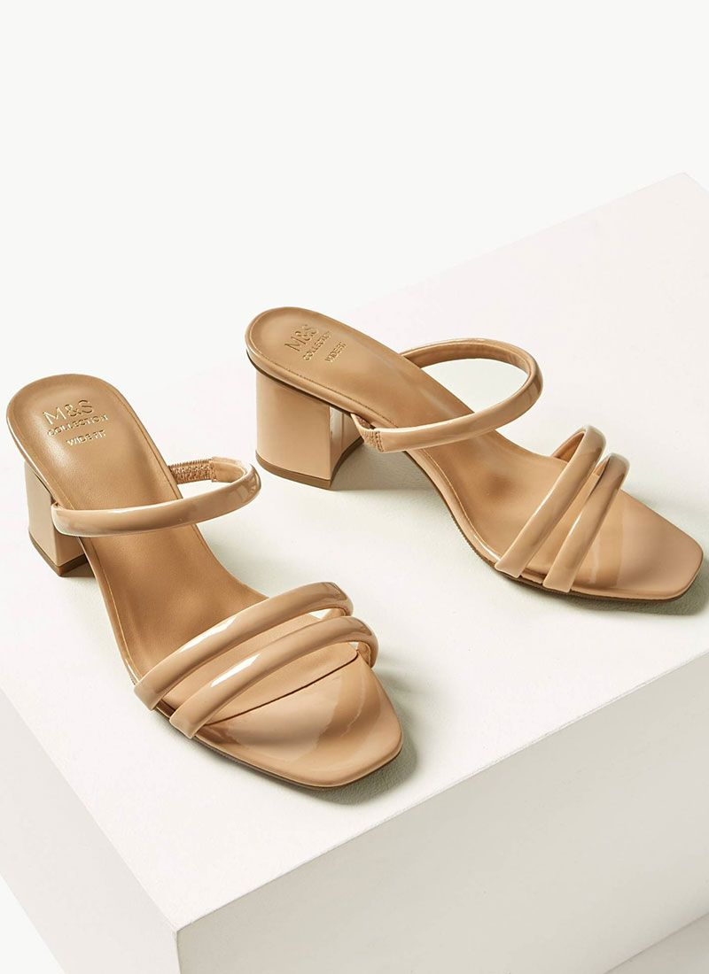 low-heel and flat bridesmaid shoes