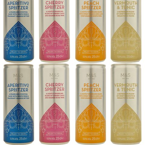 M&S new cocktails in a can