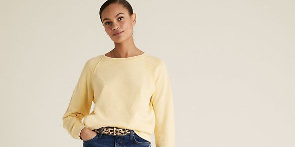 "Shoppers are raving about Marks & Spencer's ""comfy"" boyfriend jeans"