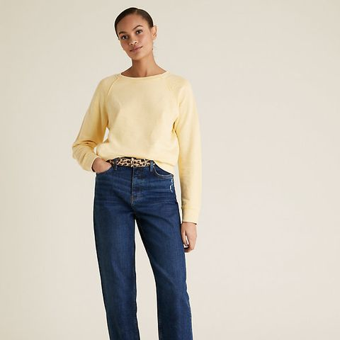 ms boyfriend jeans perfect for wfh