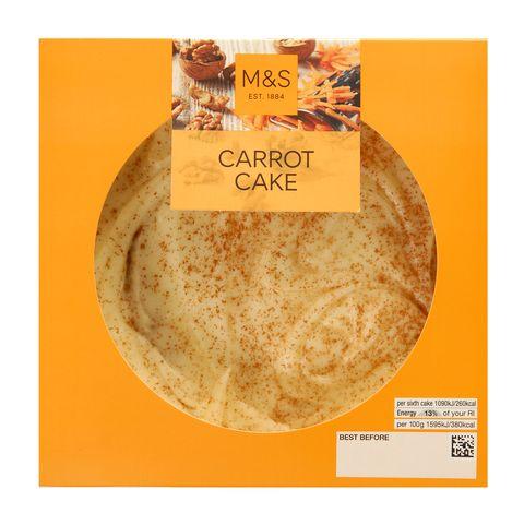 Marks & Spencer Carrot Cake