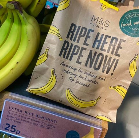 ms selling extra ripe bananas for baking