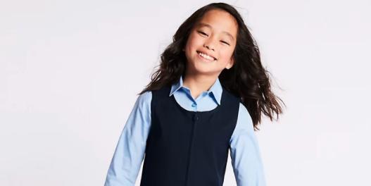 M&S currently has a flash sale on all school uniform