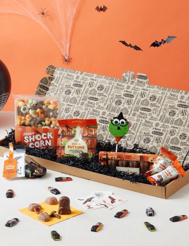 mands halloween treats letterbox gift