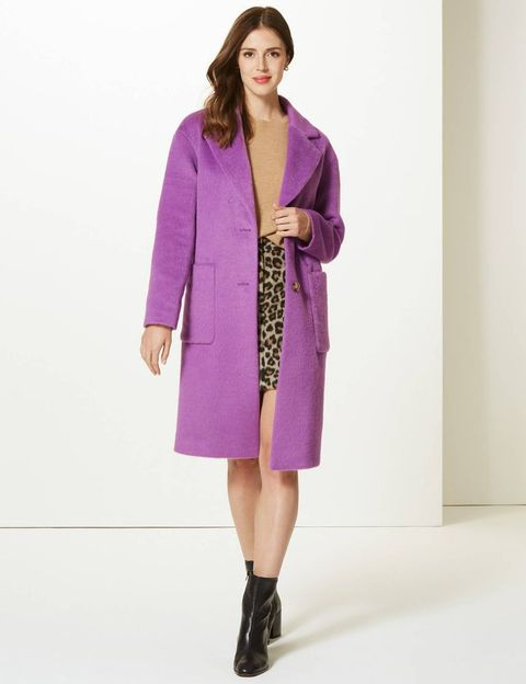 choose authentic best price men/man Holly Willoughby's statement Marks & Spencer coat is now on sale