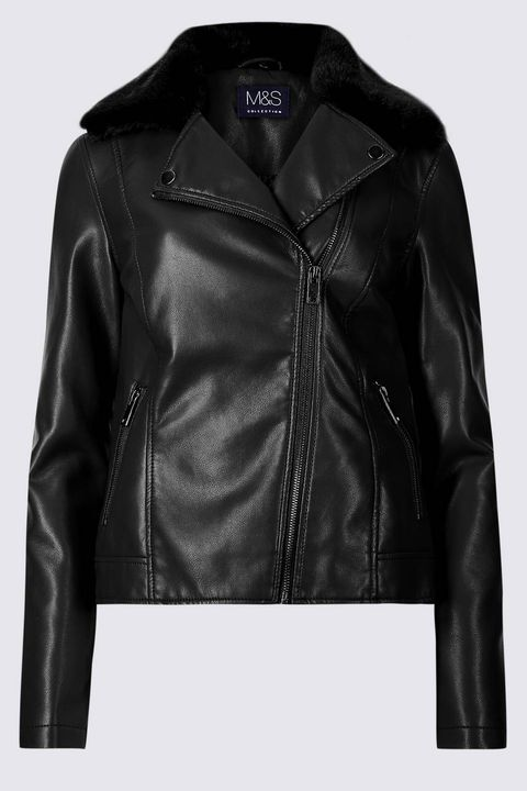 M&S leather jackets