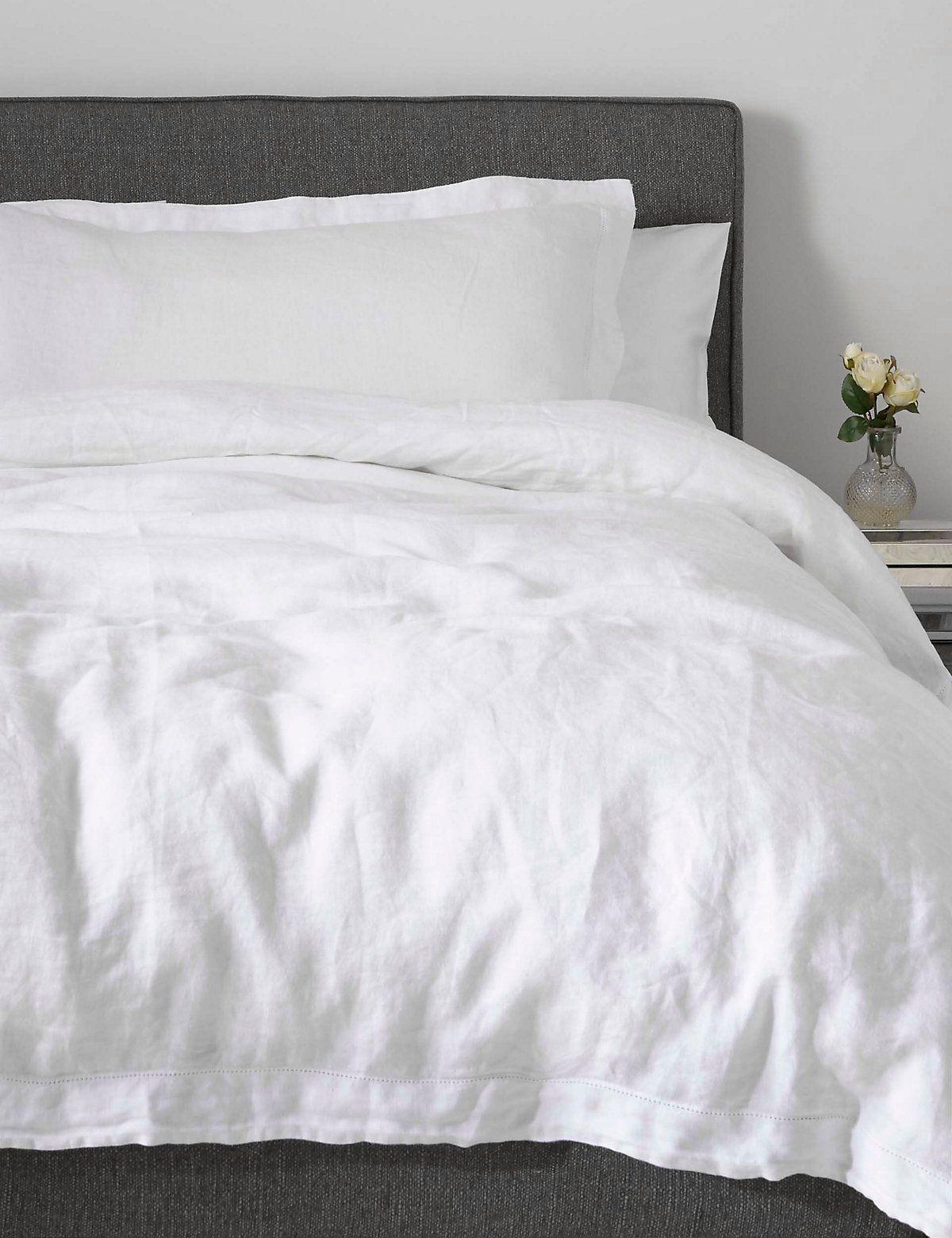Pure Linen Bedding, Marks & Spencer