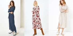 M&S online dresses