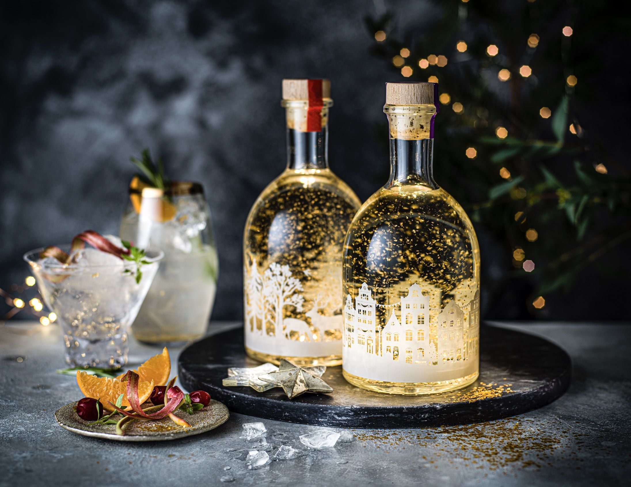 Will It Snow On Christmas 2020 M&S Snow Globe Gin Now Lights Up   Marks and Spencer Christmas