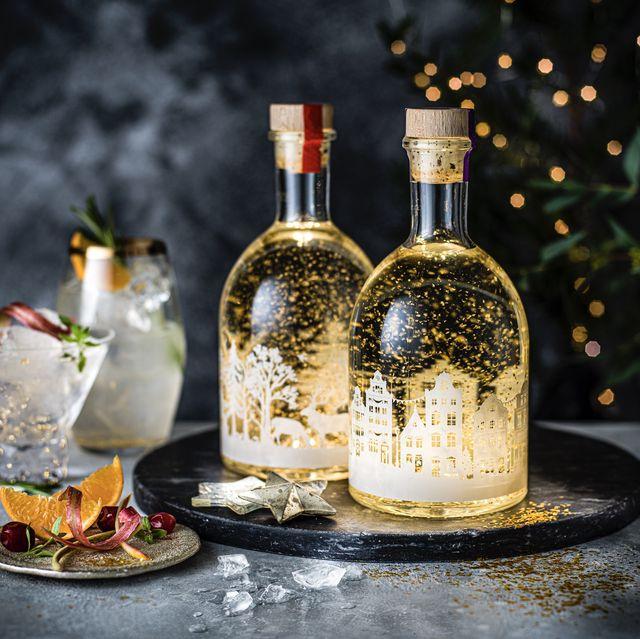 marks  spencer's light snow globe gin liqueur, £18