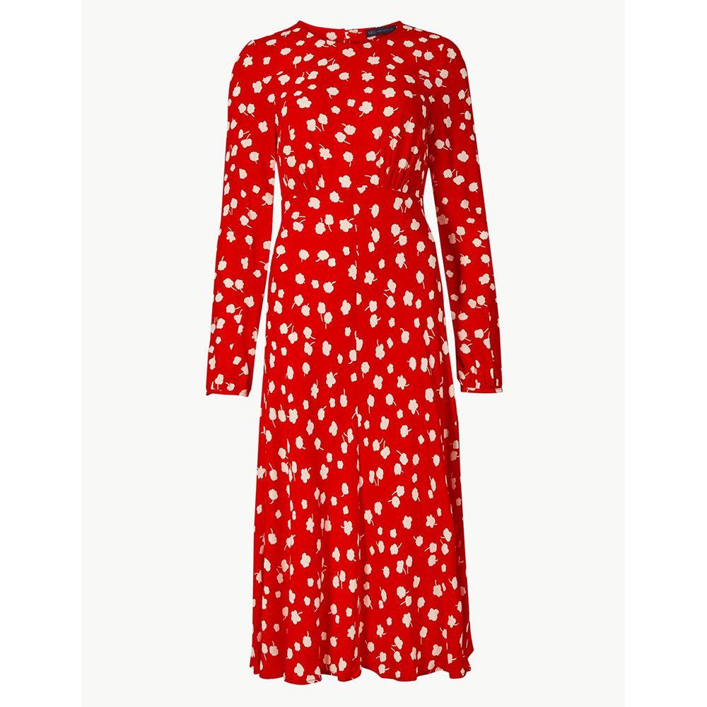 M&S floral print dress