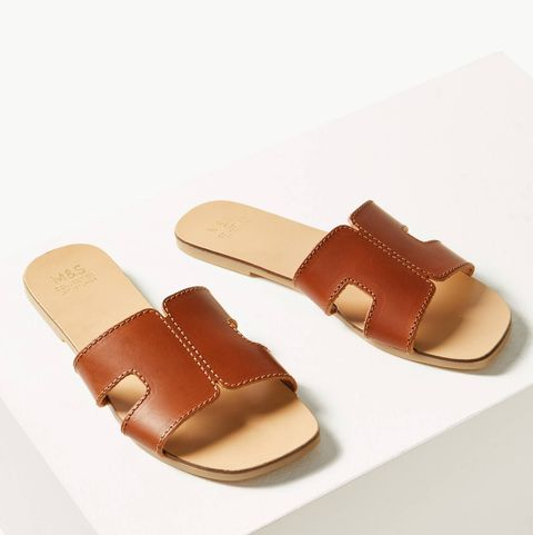 nice shoes closer at factory outlet M&S has made the sandals of the summer for just £25