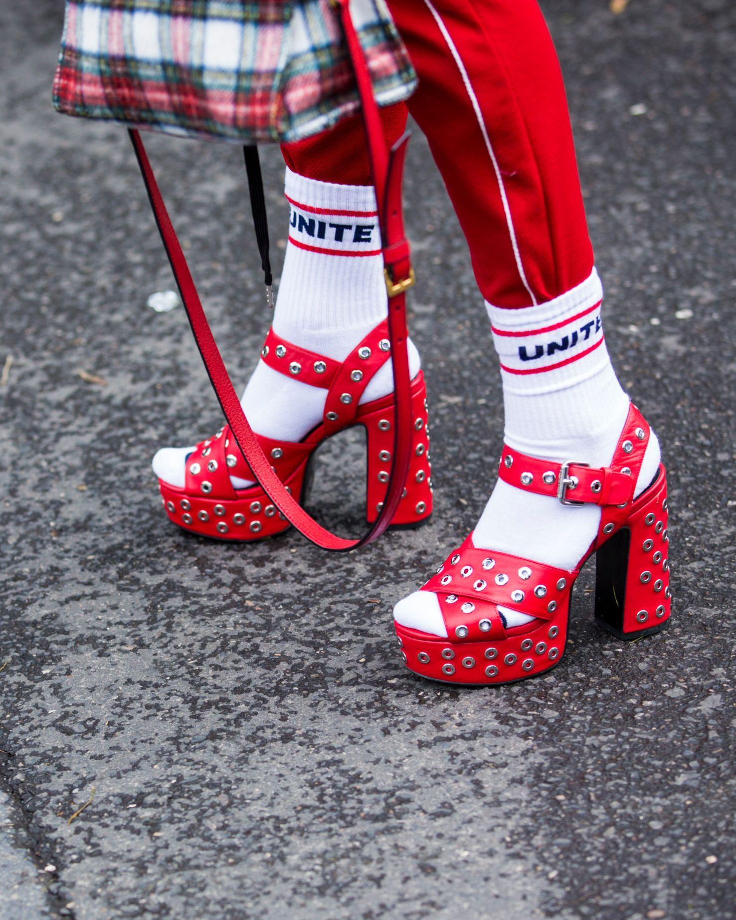 襪子,穿搭,街拍,ootd