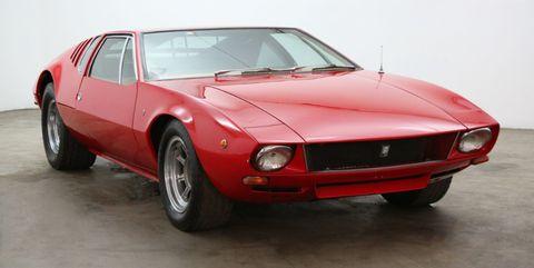 Land vehicle, Vehicle, Car, Sports car, Coupé, Supercar, Classic car, Automotive design, Sedan, De tomaso pantera,