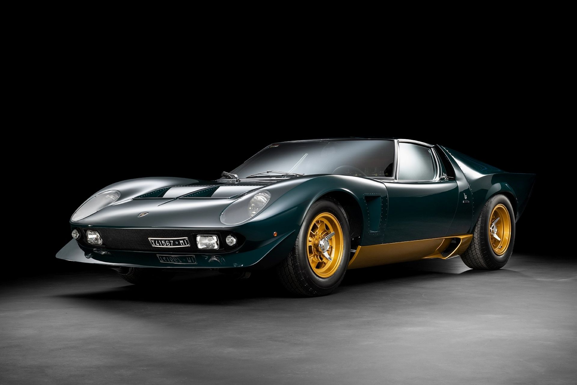 "This One-Off Lamborghini Miura ""Millechiodi"" Is a Jota-Inspired Vintage Supercar"
