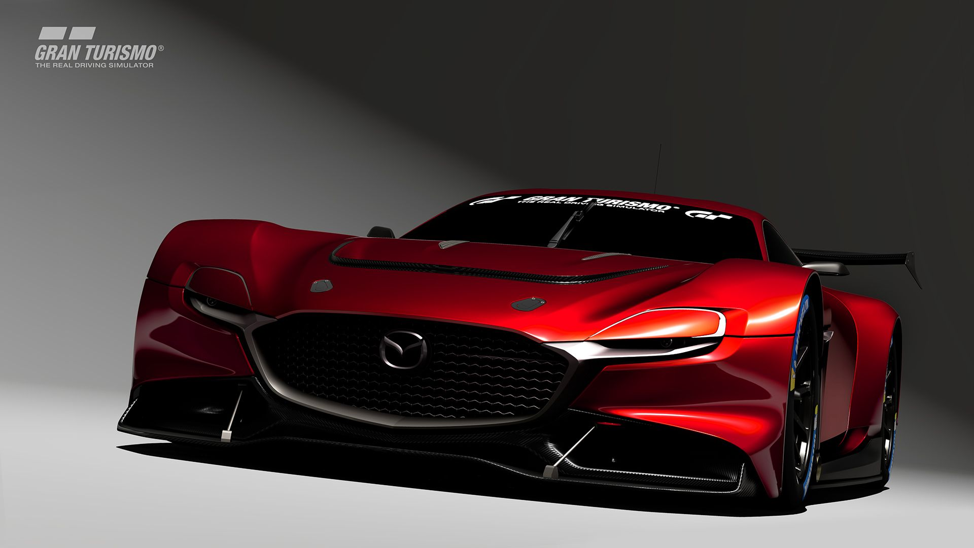 Mazda's Group 3 RX-Vision GT3 Concept Is a Beautiful Gran Turismo Race Car