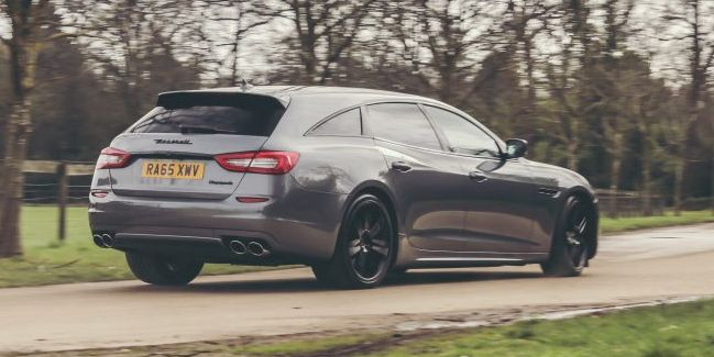 Someone Turned This Maserati Quattroporte Into a Wagon and It's Awesome