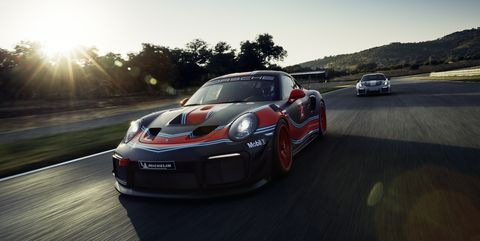 porsche 911 gt2 rs clubsport 700 hp track 911 revealed at 2018 la