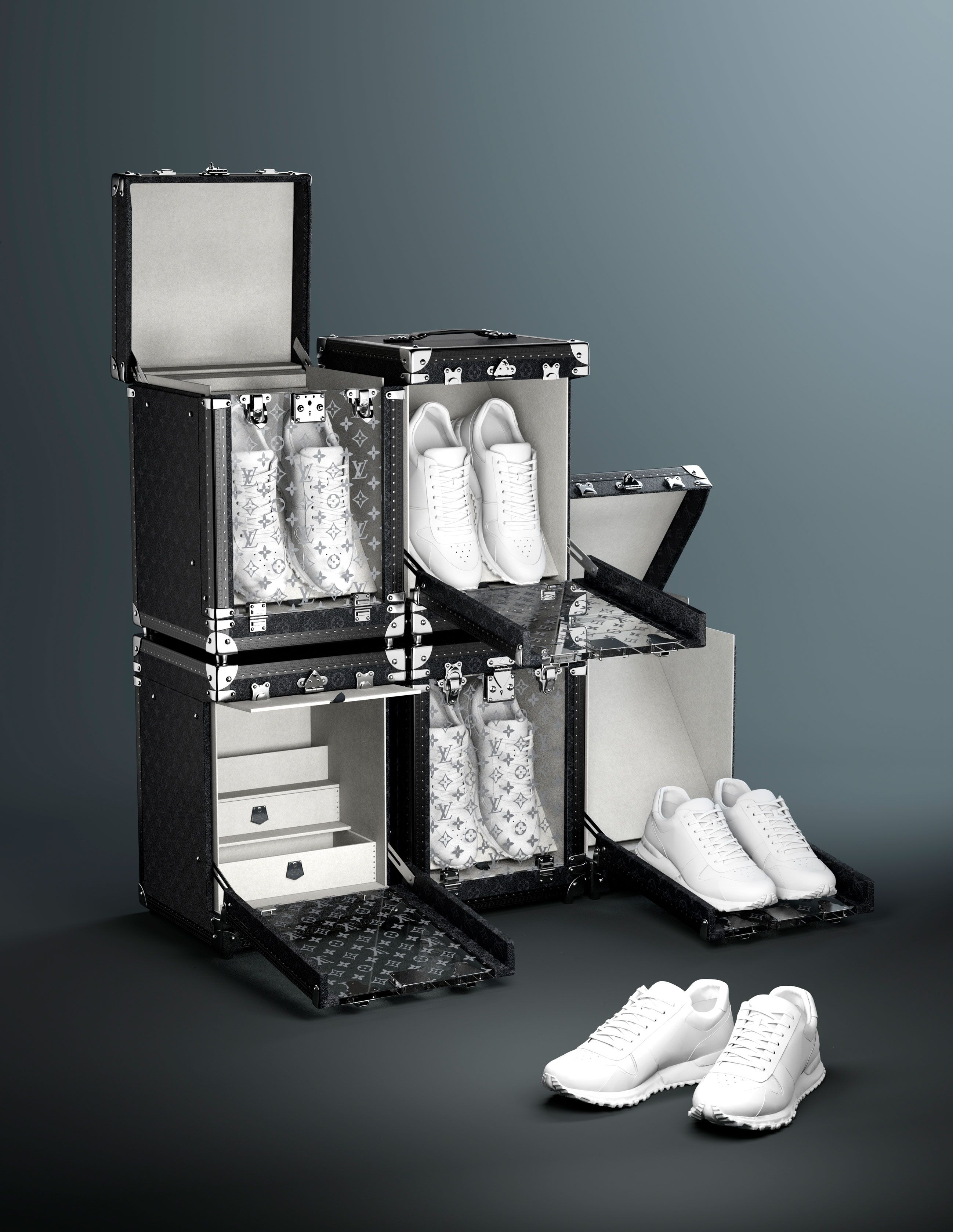 Louis Vuitton Has Developed an Extremely Baller Way to Store Your Sneakers