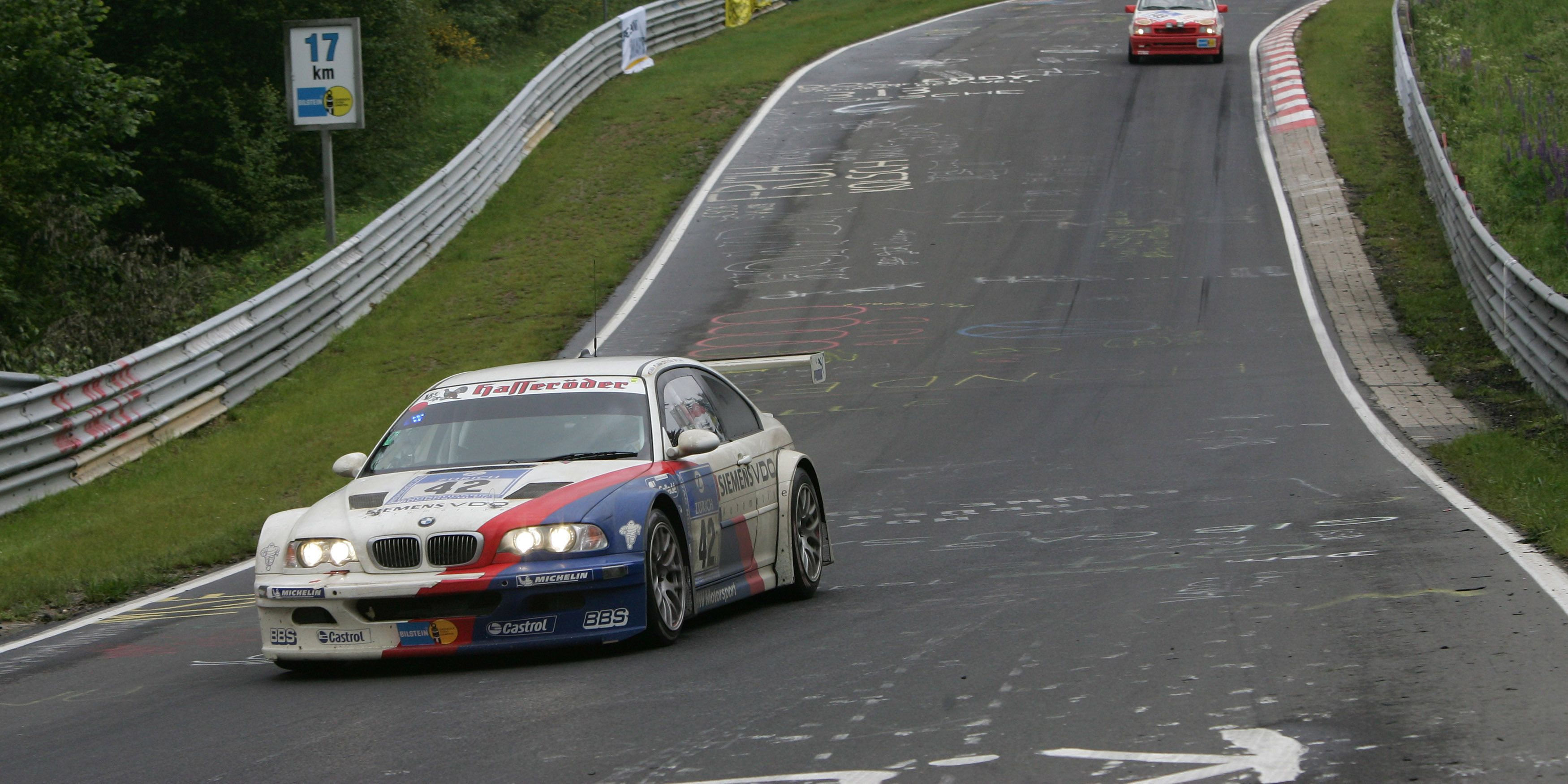 Enjoy This Video Of Hans Stuck Driving The Bmw E46 M3 Gtr Around The Nordschleife
