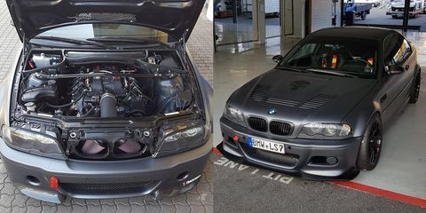 This LS7-Swapped BMW M3 Has 650 HP and Sounds Like a Z06