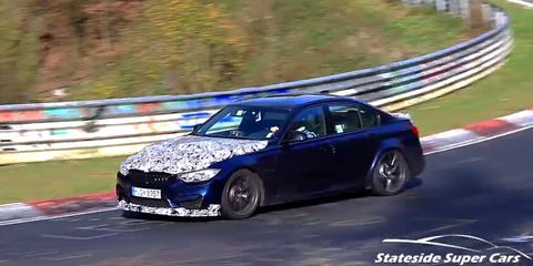 Here S The More Focused 2019 Bmw M3 Cs Testing At The Nurburgring
