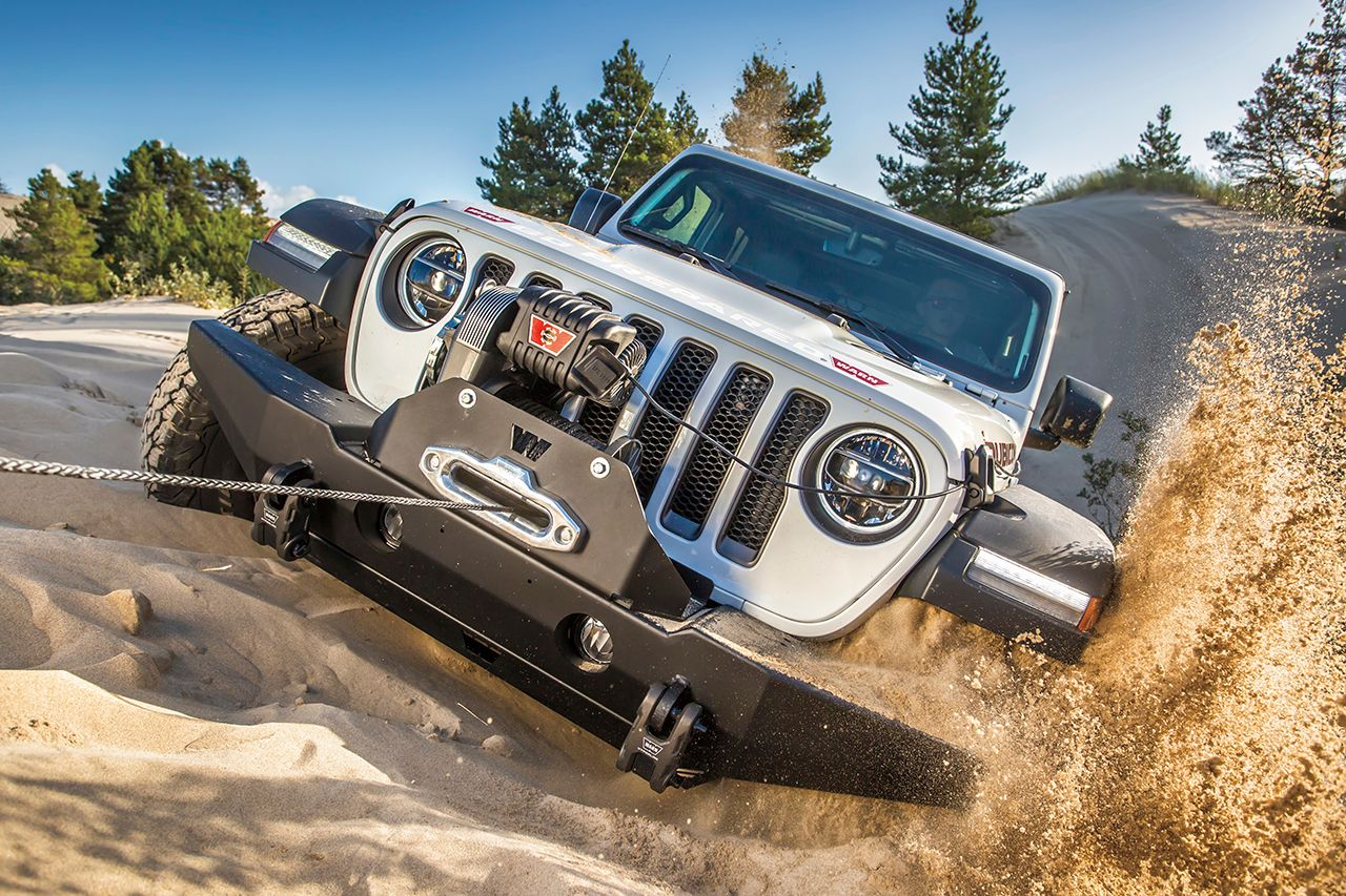 The Warn M8274 Anniversary Edition Winch Is Retro Awesome