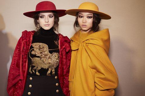 Clothing, Hat, Sleeve, Textile, Collar, Headgear, Costume accessory, Fashion, Sun hat, Costume,