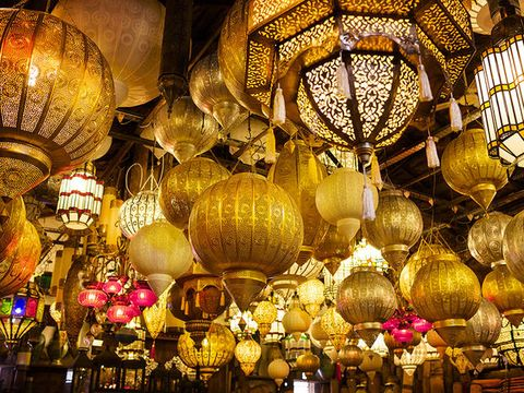 Lighting, Yellow, Lighting accessory, Ceiling, Amber, Light fixture, Tints and shades, World, Lantern, Ceiling fixture,