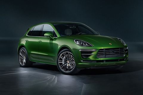 Porsche S Macan Turbo Is Back With 434 Hp And Fancy New Brakes