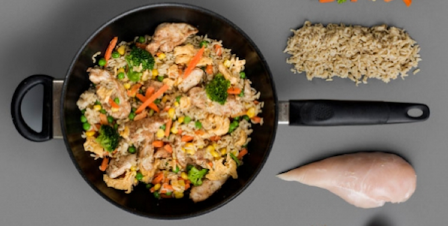 kip en rijst dieet